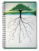 Roots Of A Tree Spiral Notebook