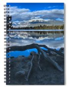 Roots On The Edge Of Beauvert Spiral Notebook