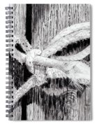 Rope On A Fence Spiral Notebook