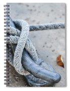Rope On Cleat Spiral Notebook