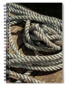 Rope On The Dock Spiral Notebook