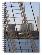 Ropes And Cables Of The Queen Mary Spiral Notebook