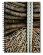 Ropes And Fishing Nets Spiral Notebook