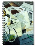 Ropes And Floats Spiral Notebook