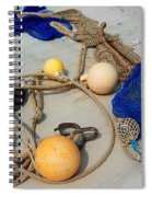 Ropes Nets And Bouys Spiral Notebook