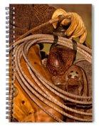 Roping Spiral Notebook