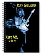 Rory Kent Blues Spiral Notebook