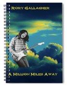 Million Miles Away Spiral Notebook