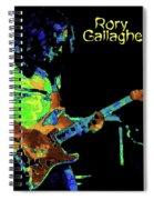 Pastel Rocker Spiral Notebook