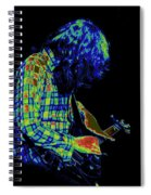 Cosmic Light Spiral Notebook
