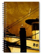 Rosa Marie Spiral Notebook