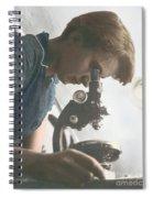 Rosalind Franklin, Crystallographer Spiral Notebook