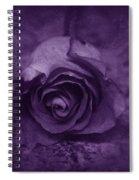 Rose - Purple Spiral Notebook
