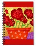 Rose-a-go-go Spiral Notebook