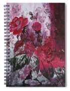 Rose Burst Spiral Notebook