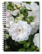 Rose Bush Spiral Notebook