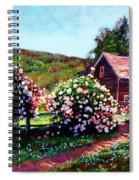 Rose Bushes Spiral Notebook