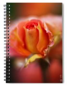 Rose Centerpiece Spiral Notebook