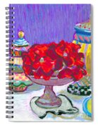 Rose Covered Cake Spiral Notebook
