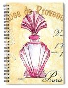 Rose De Provence Spiral Notebook
