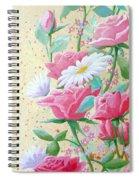 Rose Diptych 2  Spiral Notebook