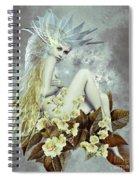 Rose Fairy Spiral Notebook