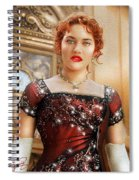 Rose From Titanic Spiral Notebook