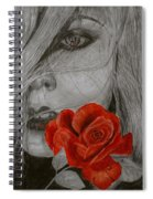 Rose Kisses Spiral Notebook