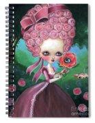 Rose Marie Antoinette Spiral Notebook
