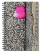 Rose Petal Spiral Notebook