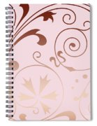 Rose Quartz Gold Komingo Spiral Notebook
