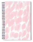 Rose Rain- Art By Linda Woods Spiral Notebook