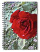 Rose Red Spiral Notebook