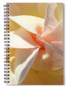 Rose Spiral Flower Art Prints Peach Rose Floral Baslee Troutman Spiral Notebook