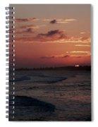 Rose Sunset Spiral Notebook