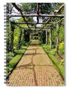 Rose Trellis Spiral Notebook