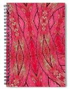 Rose Wood Spiral Notebook