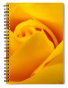 Rose Yellow Spiral Notebook