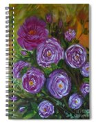 Rosebush Spiral Notebook