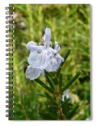 Rosemary Bloom Spiral Notebook