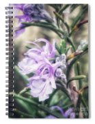 Rosemary Blooming Spiral Notebook