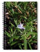 Rosemary Flower Spiral Notebook