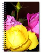 Roses 4 Spiral Notebook