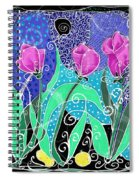 Roses And Lemons Spiral Notebook