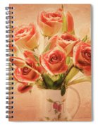 Roses And Tulips Spiral Notebook