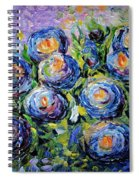 Roses Are Blue  Spiral Notebook