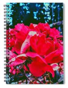 Roses At Mont Alto Spiral Notebook