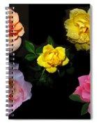 Roses Beautiful Spiral Notebook