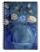 Roses For Him Painting Spiral Notebook