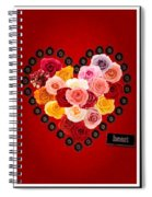 Roses For My Dear Love Spiral Notebook